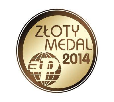 Złoty Medal Międzynarodowych Targów Poznańskich Instalacje 2014.