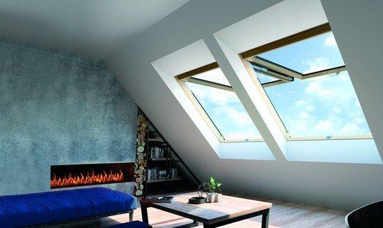 Okno dachowe uchylno-obrotowe