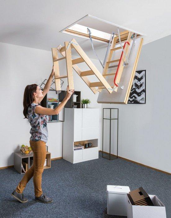 Superizolacyjne schody strychowe